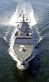 Frigate f-310 built in navantia for the norwegian navy