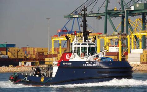 Conversion of Harbour Tug to use LNG