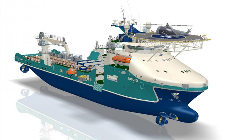 Multipurpose Subsea Support Vessel