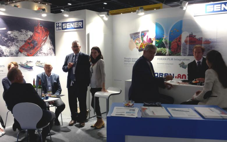 SENER attends Nor-Shipping 2017 with FORAN V80R2.0 and new ship designs